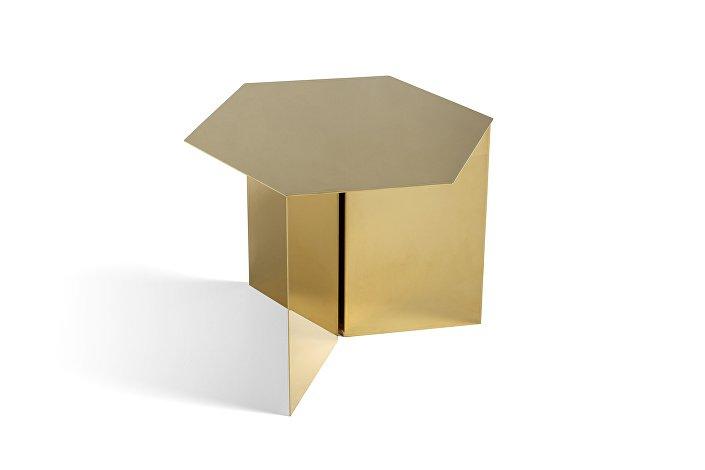 1024767009000_Slit Table Hexagon_brass