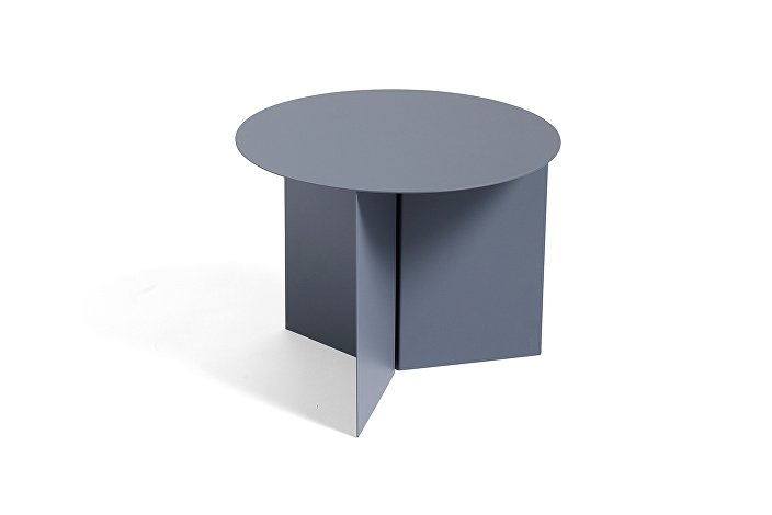 1024779009000_Slit Table Round_petrol grey