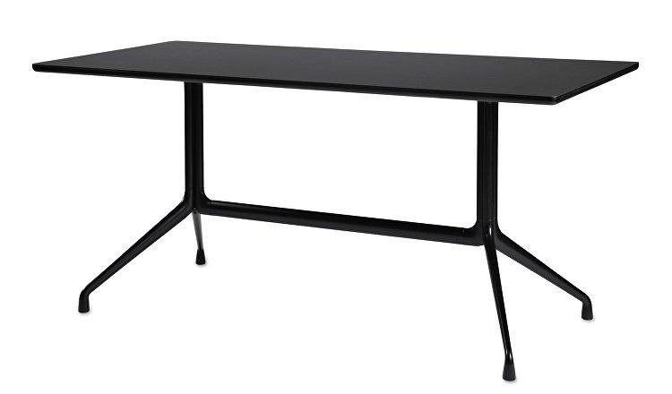 1933121009000_AAT10 Table_L180xW90xH73_Black linoleum tabletop_black frame_WB