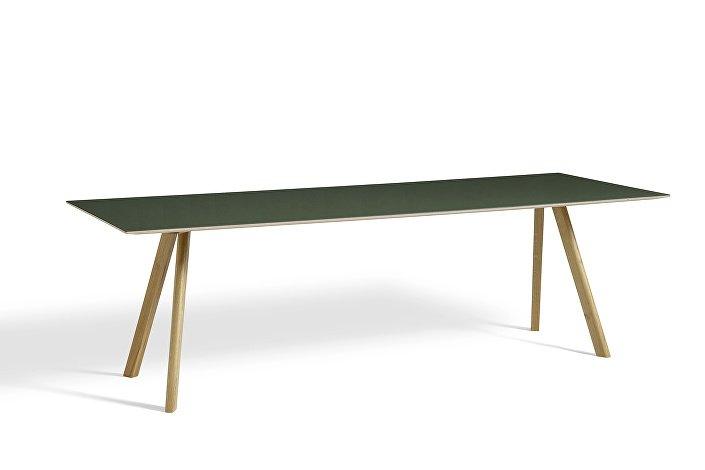 1010332049000_CPH30 L250xW90_Clear lacquer oak base_Green lino