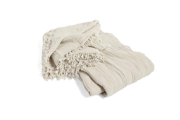 507092_Crinkle Bedspread cream