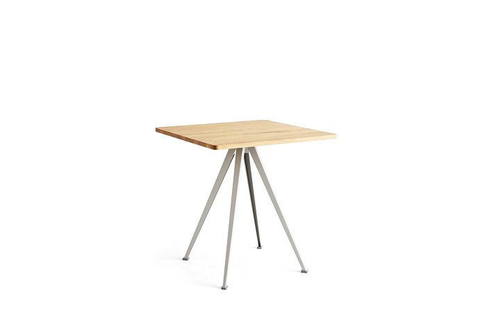 1959292509000_Pyramid Cafe Table 21_L70xW70_Frame beige_Top oiled oak_wb