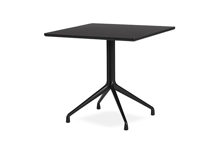 1933921009000_AAT15 Table_L80xW80xH73_black linoleum tabletop_black frame