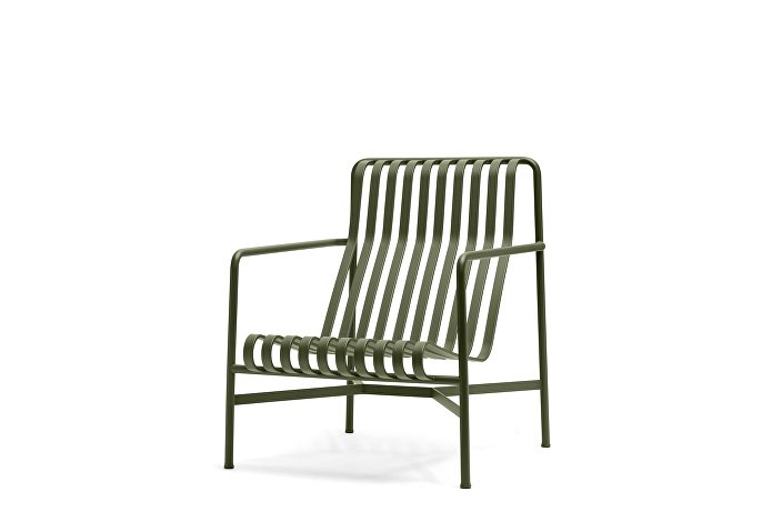 Palissade Lounge Chair High olive