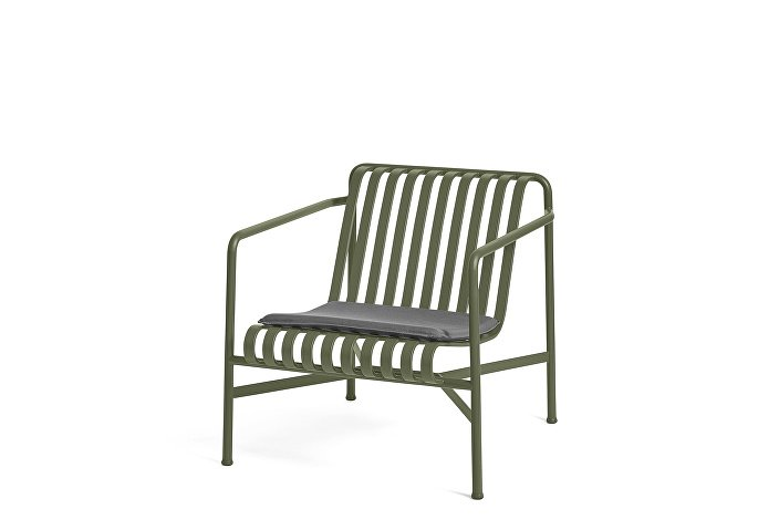 Palissade Lounge Chair Low olive_Seat Cushion Anthracite