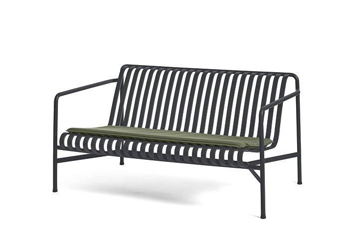 Palissade Lounge Sofa Anthracite_Seat Cushion Olive