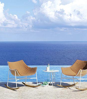 Summer set rocking armchair