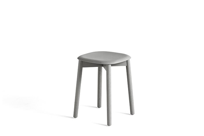 928349_Soft Edge 72 Stool_Base soft grey stained oak_Seat soft grey stained oak
