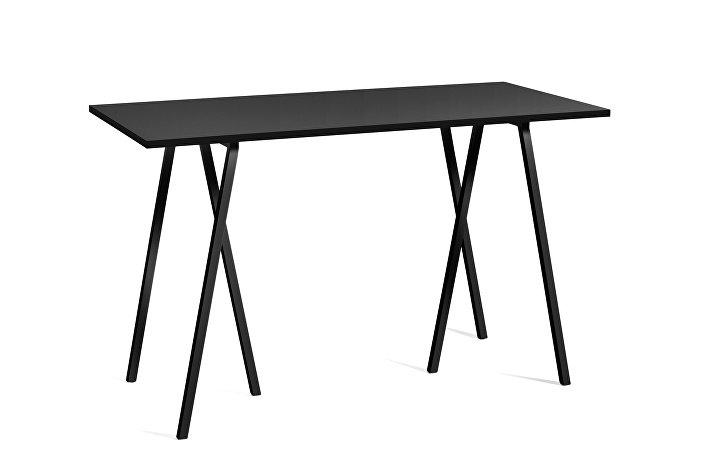 1015132019000_Loop Stand High Table_L160xW77,5xH97_black