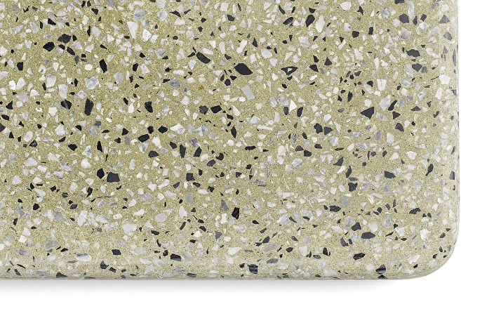 Terrazzo Table yellow base_Detail