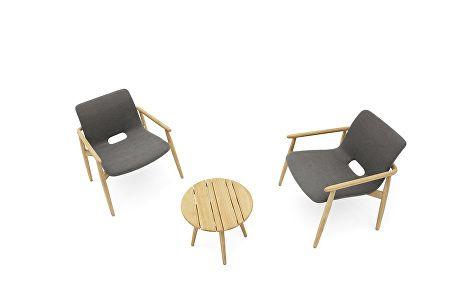LAPIS lounge armchair