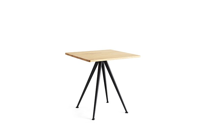 1959272509000_Pyramid Cafe Table 21_L70xW70_Frame black_Top oiled oak_wb