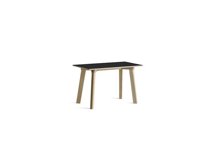 8091291409000_CPH Deux 215 Bench_L75xW35xH45_Beech untreated raw plywood edge base_Ink black laminate