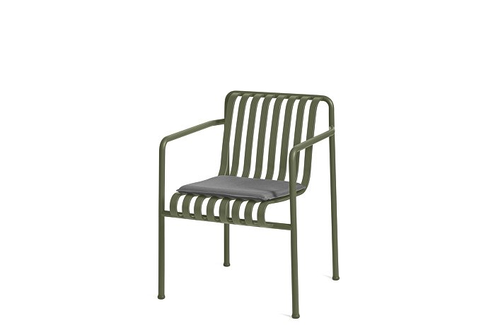 Palissade Dining Arm Chair olive_Seat Cushion Anthracite