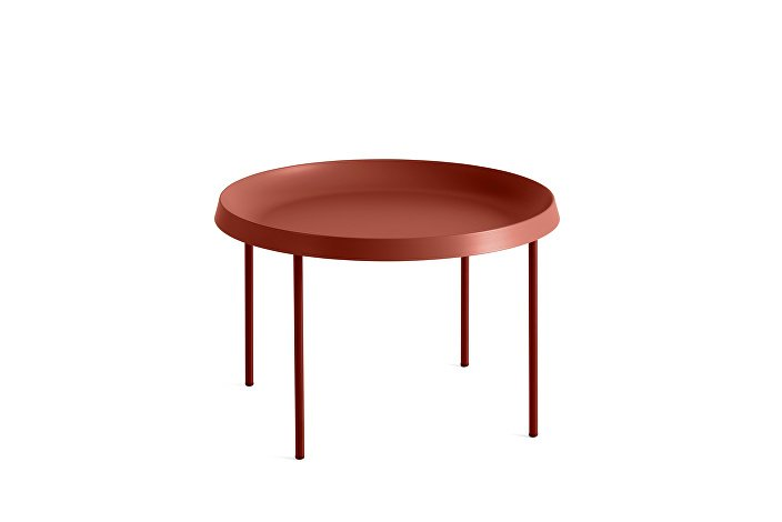930509_Tulou Coffee table_dia55xH35_Orange