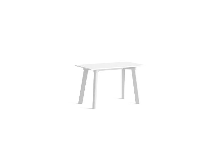 8091691009000_CPH Deux 215 Bench_L75xW35xH45_Pearl white plywood edge_Pearl white laminate