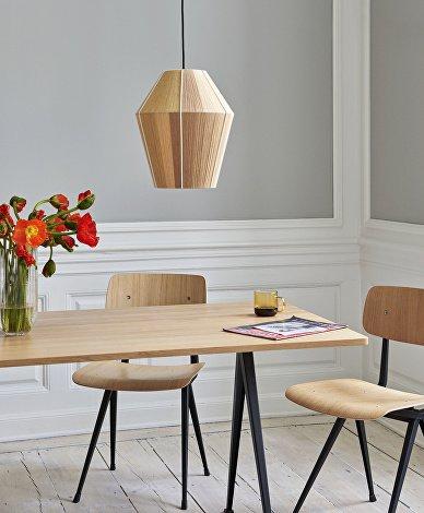 Bonbon M yellow melange_Pyramid Table 02_Result Chair_Borosilicate Mug_Colour Vase