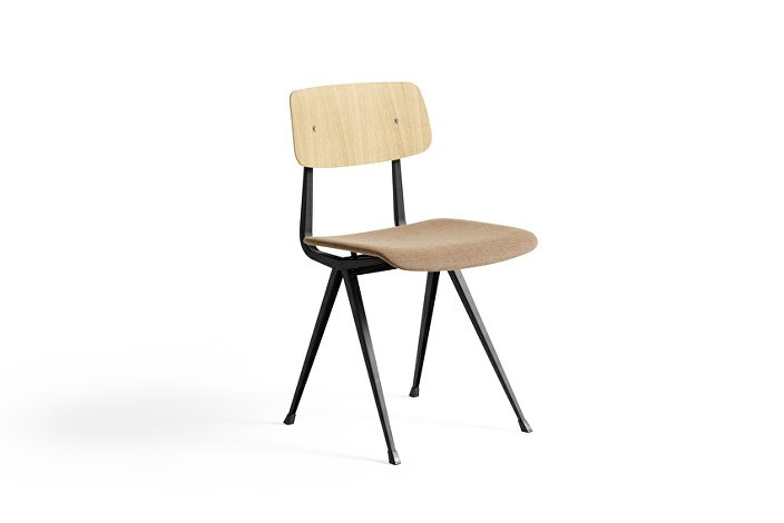 1973191804030_Result Chair black base_matt lacquered oak backrest_uph Canvas 356_WB