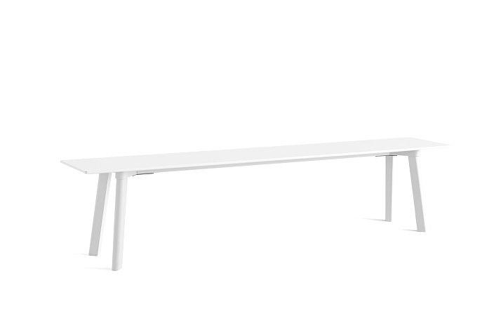 8091731009000_CPH Deux 215 Bench_L200xW35xH45_Pearl white plywood edge_Pearl white laminate