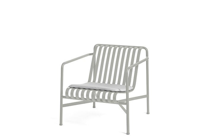 Palissade Lounge Chair Low Sky Grey_Seat Cushion Sky Grey