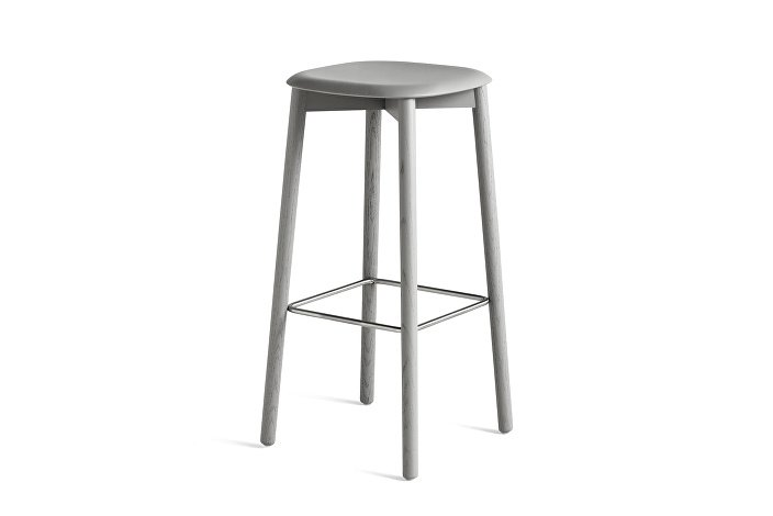 928213_Soft Edge32 Bar Stool high_H75_Base soft grey stained oak_Seat soft grey stained oak