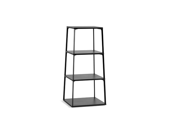 931531_Eiffel Shelf Rectangular_4 layers_Ink black