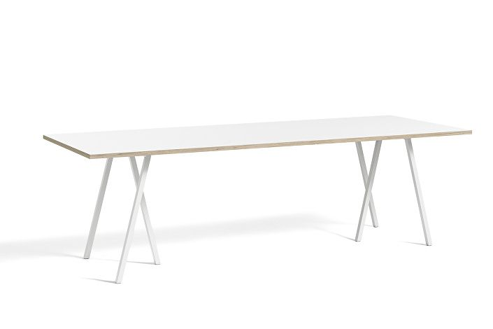 1015042119000_Loop Stand Table_L250xW92,5xH74_white