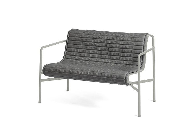 Palissade Dining Bench Sky Grey_Quilted Cushion Anthracite