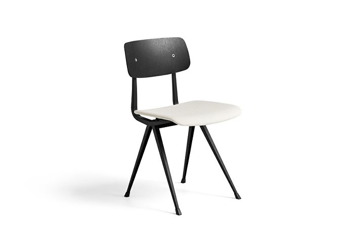 1973111001013_Result Chair_black base_black stained oak back w. seat uph Steelcut 220