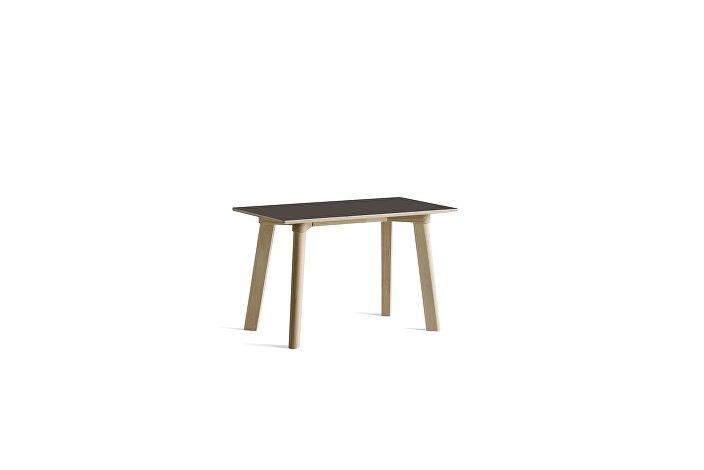 8091291209000_CPH Deux 215 Bench_L75xW35xH45_Beech untreated raw plywood edge base_Stone grey laminate