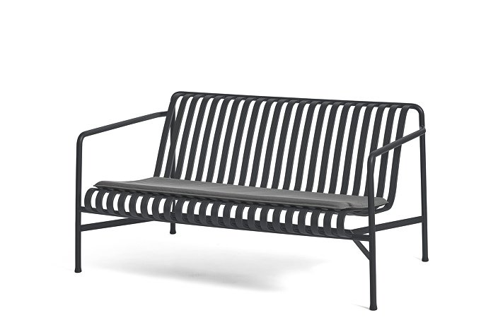 Palissade Lounge Sofa Anthracite_Seat Cushion Anthracite
