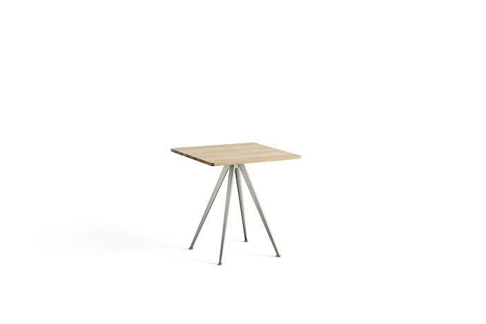 1959291509000_Pyramid Cafe Table 21_L70xW70_Frame beige_Top oak matt lacquered_wb