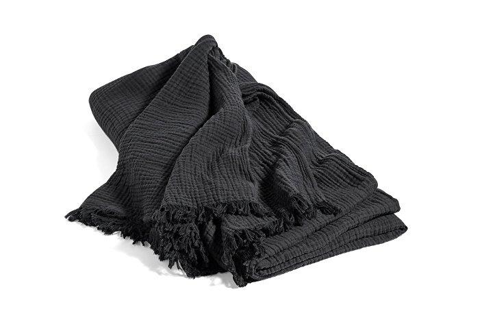 506391_Crinkle Bedspread anthracite