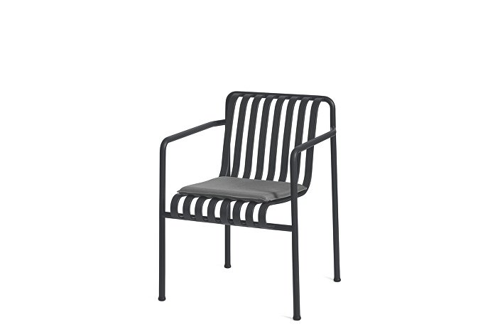 Palissade Dining Arm Chair Anthracite_Seat Cushion Anthracite