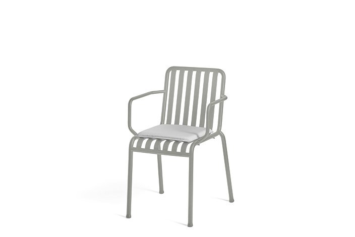 Palissade Arm Chair Sky Grey_Seat Cushion Sky Grey