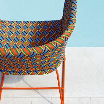 Kente Lounge Chair