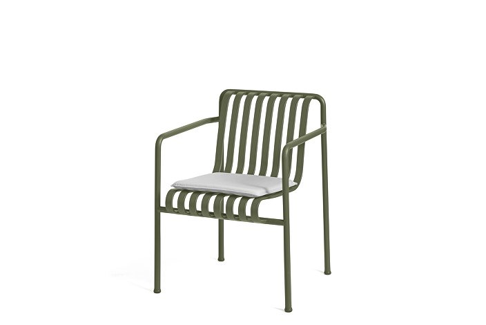 Palissade Dining Arm Chair olive_Seat Cushion Sky Grey