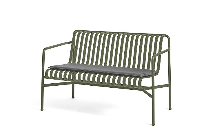 Palissade Dining Bench Olive_Seat Cushion Anthracite
