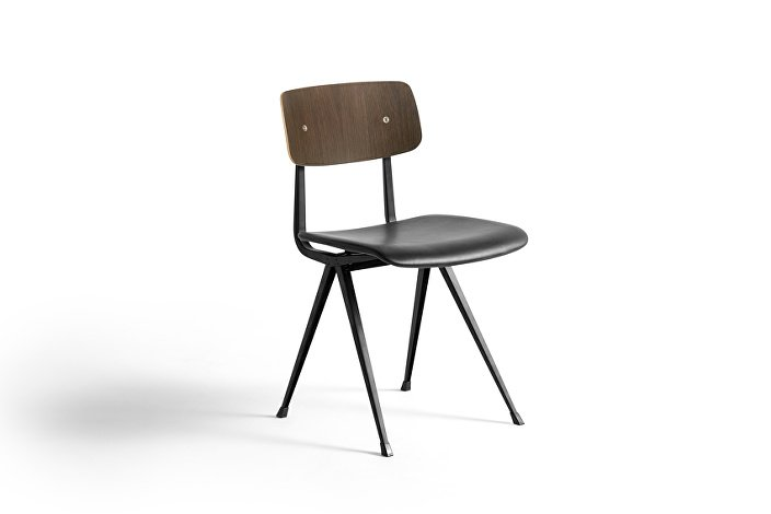 1973236105716_Result Chair black base_smoked matt lacquered backrest_uph black silk leather_WB