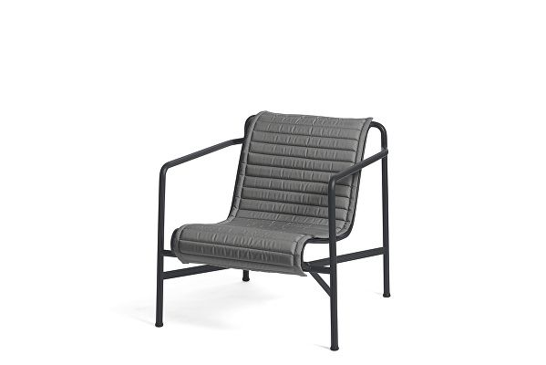 Palissade Lounge Chair Low Quilted Cushion