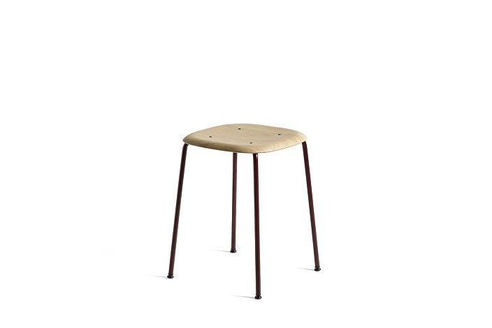1992191109000_Soft Edge 70_Base fall red_Seat oak matt lacquer