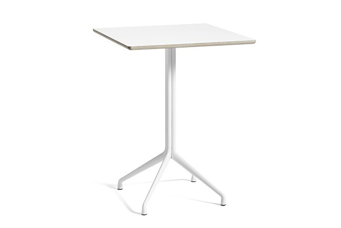 1934042009000_AAT15 Table_L80xW80xH73_White laminate tabletop_white frame