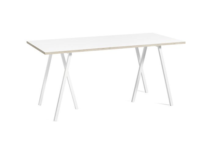 1015012119000_Loop Stand Table_L160xW77,5xH74_white