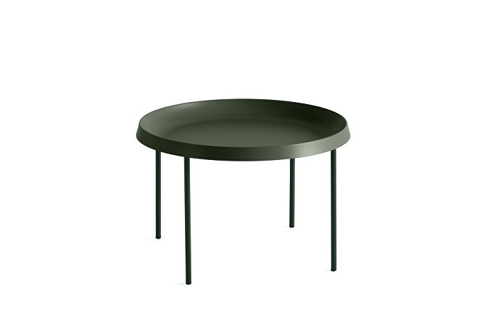 930505_Tulou Coffee table_dia55xH35_Matt green
