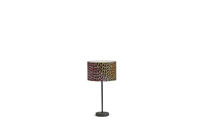 4101711309000_Cast Table Base_Drum Shade_Knit