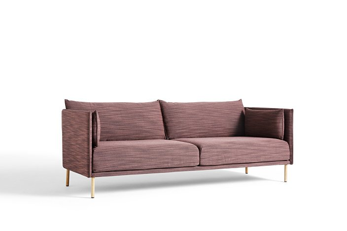 930752 Silhouette 3 seater low smoked oak base_uph Raas 662_WB