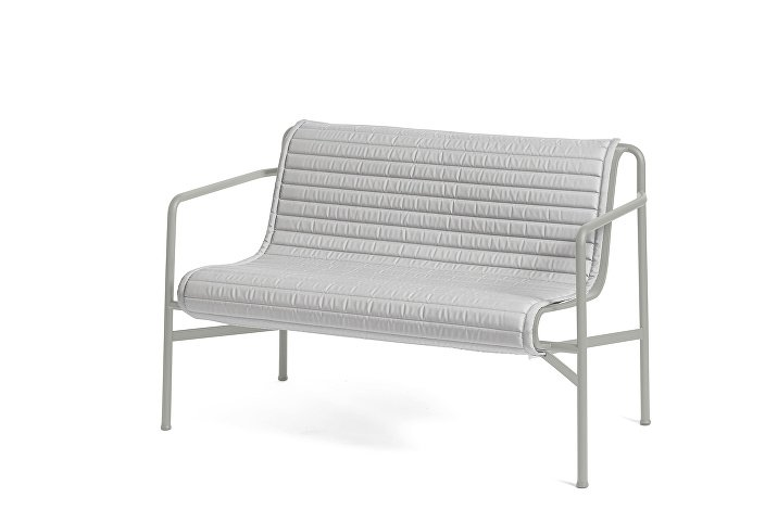 Palissade Dining Bench Sky Grey_Quilted Cushion Sky Grey
