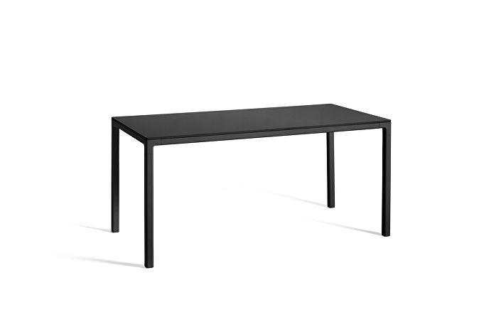 1023093009000_T12 Table_L160xW80xH74_Frame black_Tabletop black linolium