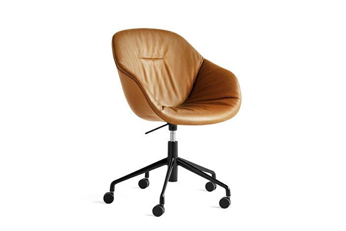 9354976105710_AAC 153 Soft Chair w. gas Silk SIL0250_black 5 star swivel base