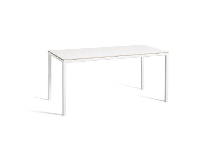 1023123509000_T12 Table_L160xW80xH74_Frame white_Tabletop white laminate
